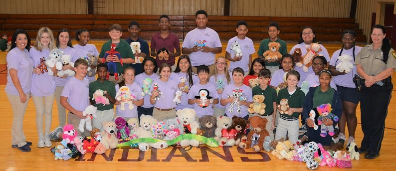 EES donates stuffed toys.JPG