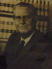 Photo of Sheriff Louis  DeLaunay